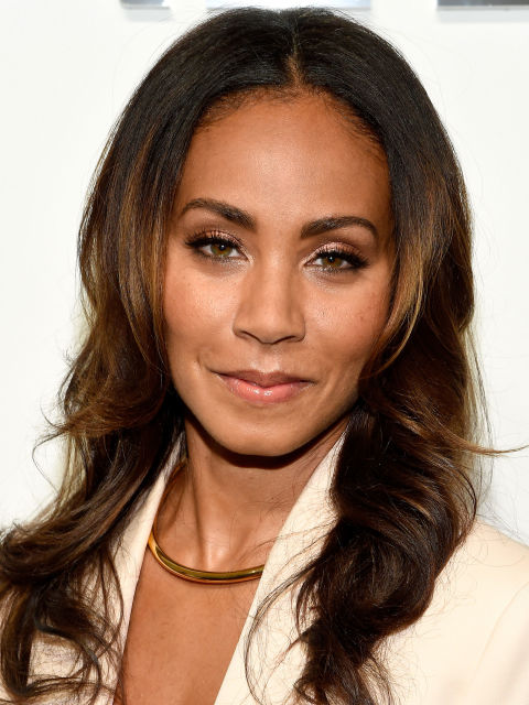 Jada Pinkett Smith hair color with highlights 2015