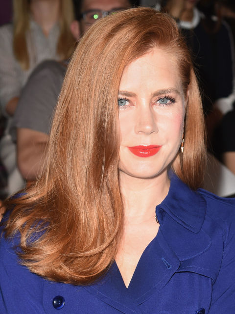 Amy Adams re hair color trends 2015