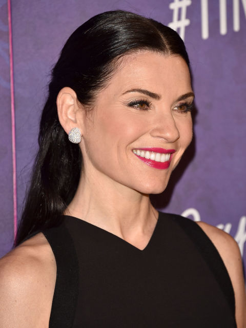 Julianna Margulies brunette hair color 2015