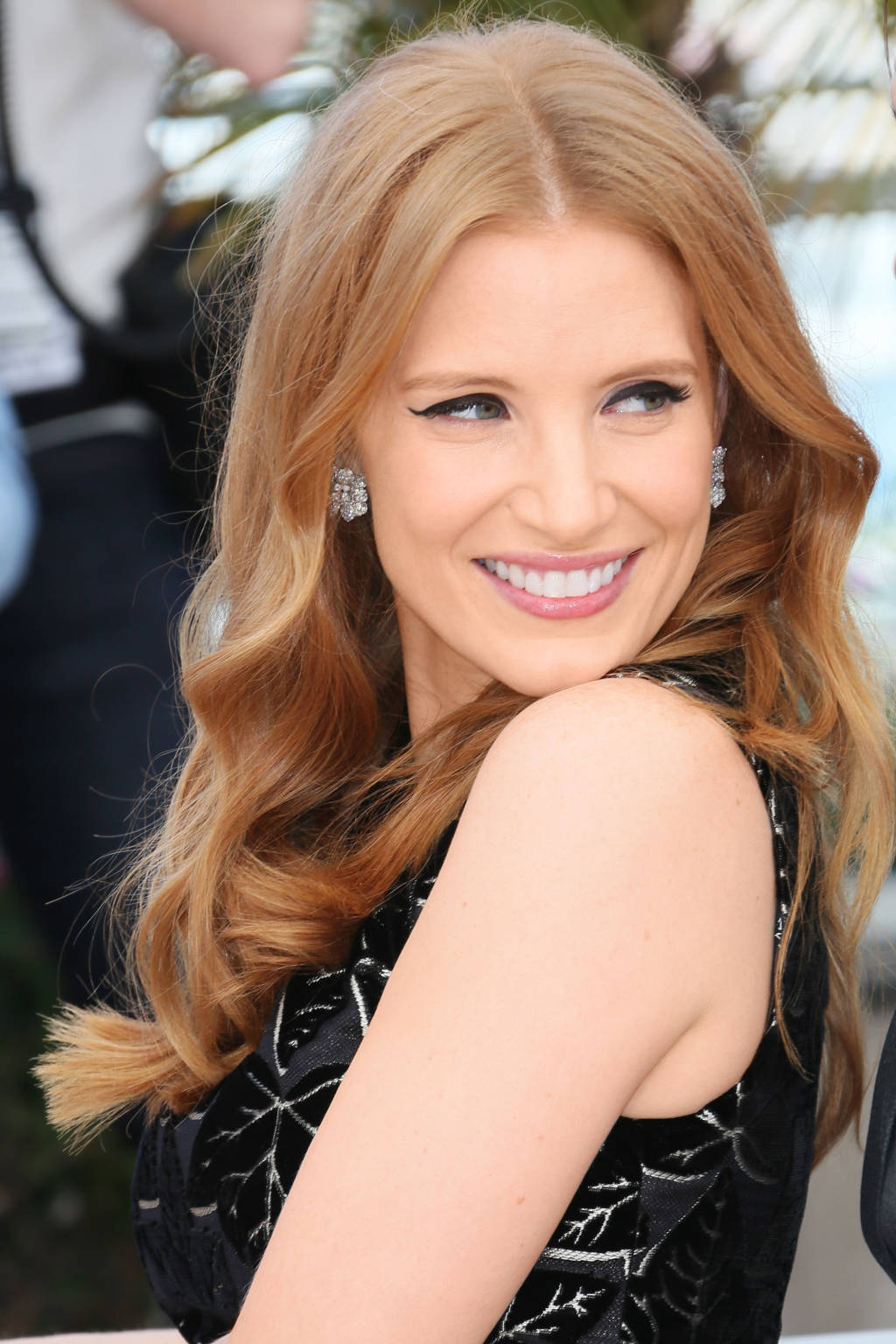 Jessica Chastain hair colors 2015