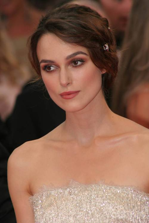 Keira Knightley New Year hairstyles 2015