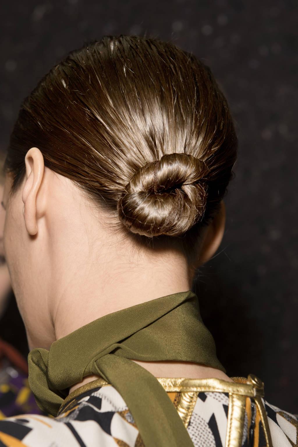Prada bun hairstyles 2015