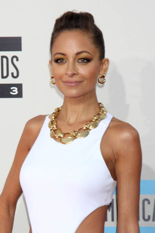 Nicole Richie New Year hairstyles 2015