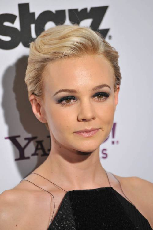 Carey Mulligan Pixie New Year hairstyles 2015