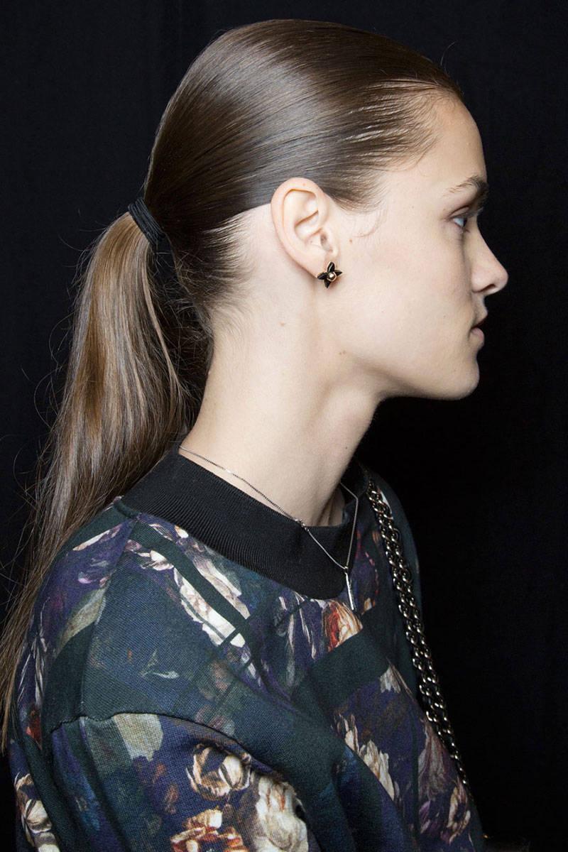 J Mendel ponytail hairstyles 2015
