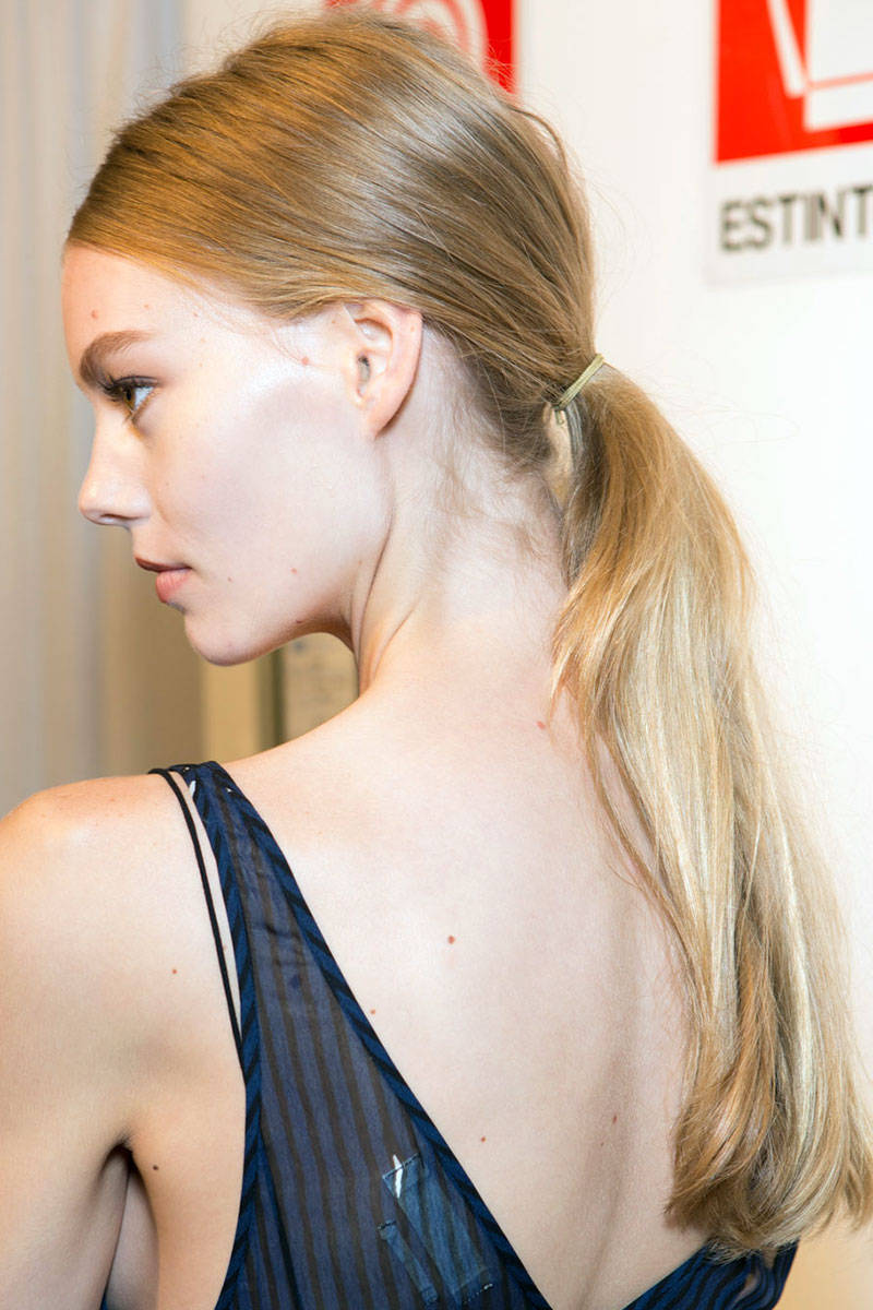 Gucci ponytail hairstyles 2015