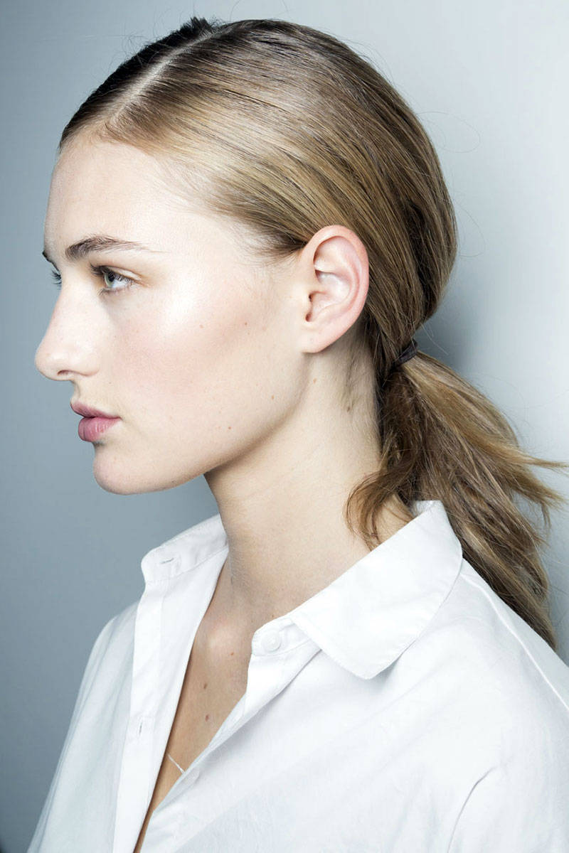 Jason Wu ponytail hairstyles 2015