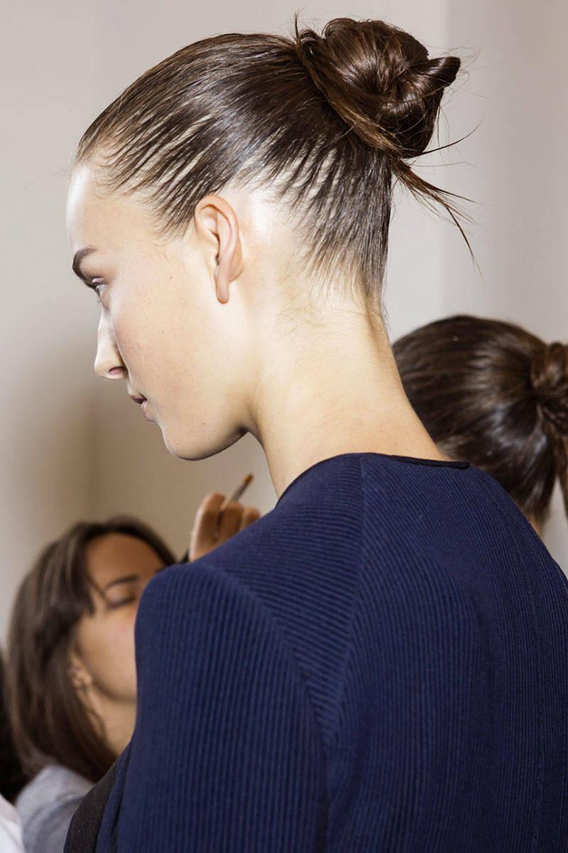 Calvin Klein wet hairstyles 2015