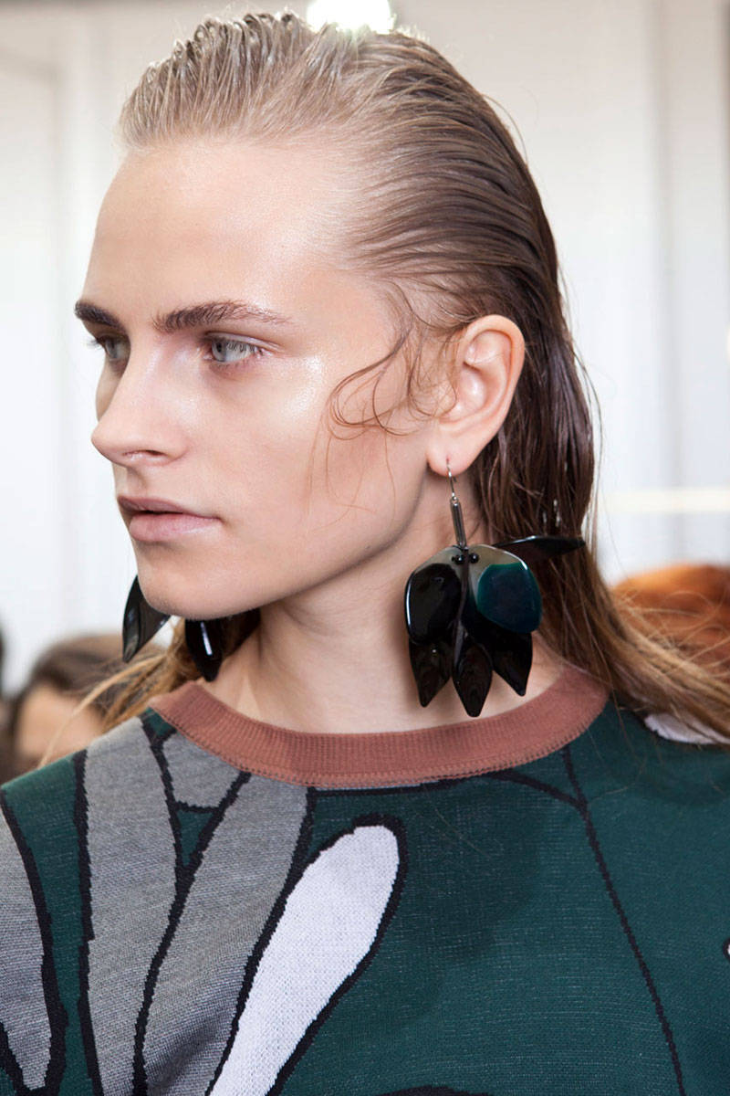 Marni wet hairstyles 2015