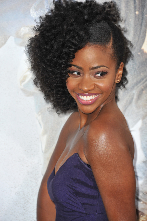 Teyonah Parris Natural Medium Hairstyles 2015