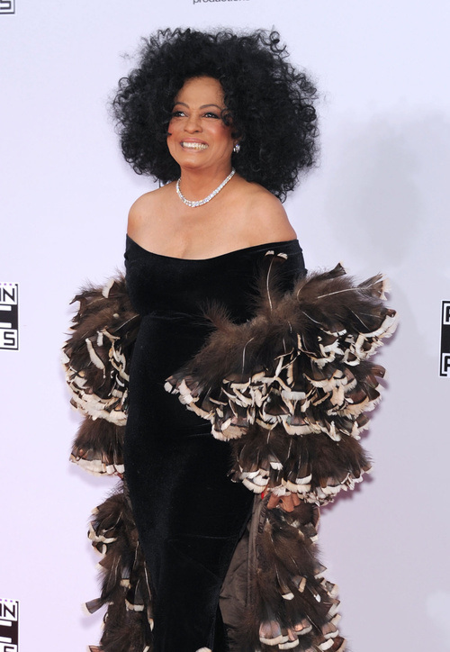Diana Ross Natural Medium Hairstyles 2015