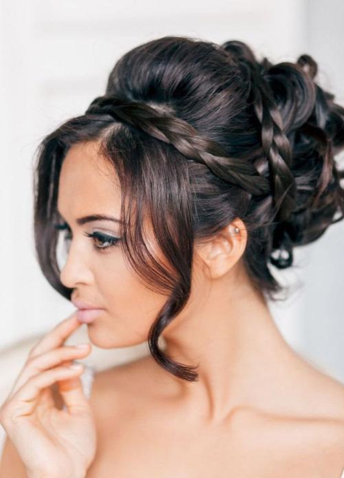 Surprising Sufficient Wedding Hairstyles 2015 Hairstyles 2016 Hair Colors Hairstyles For Women Draintrainus