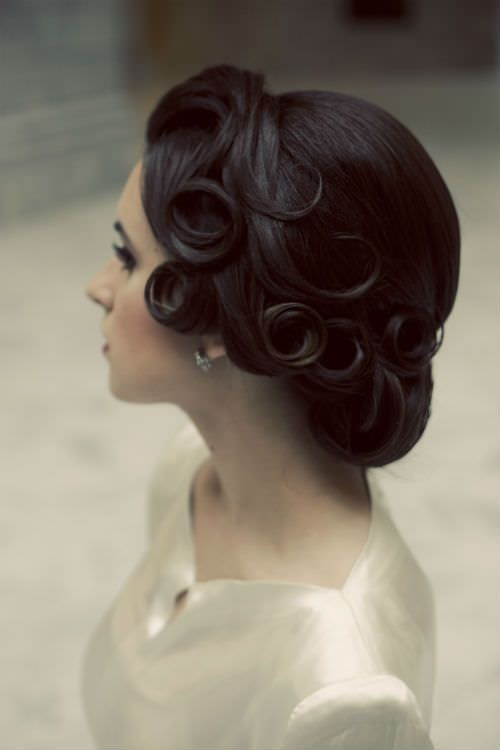 Vintage Wedding Hairstyles 2015