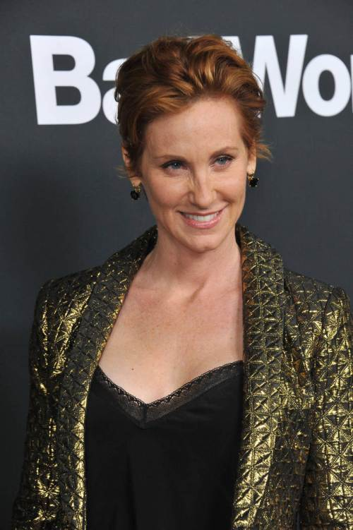 Judith Hoag short soft red hairstyles 2015