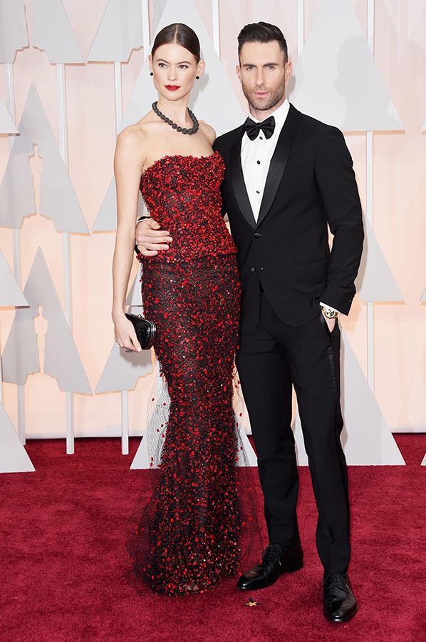 Adam Levine Oscars 2015 Hairstyles