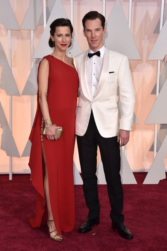 Benedict Cumberbatch Oscars 2015 Hairstyles