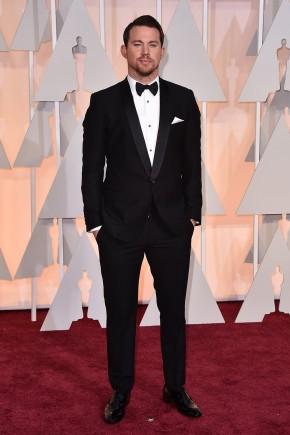 Channing Tatum Oscars 2015 Hairstyles