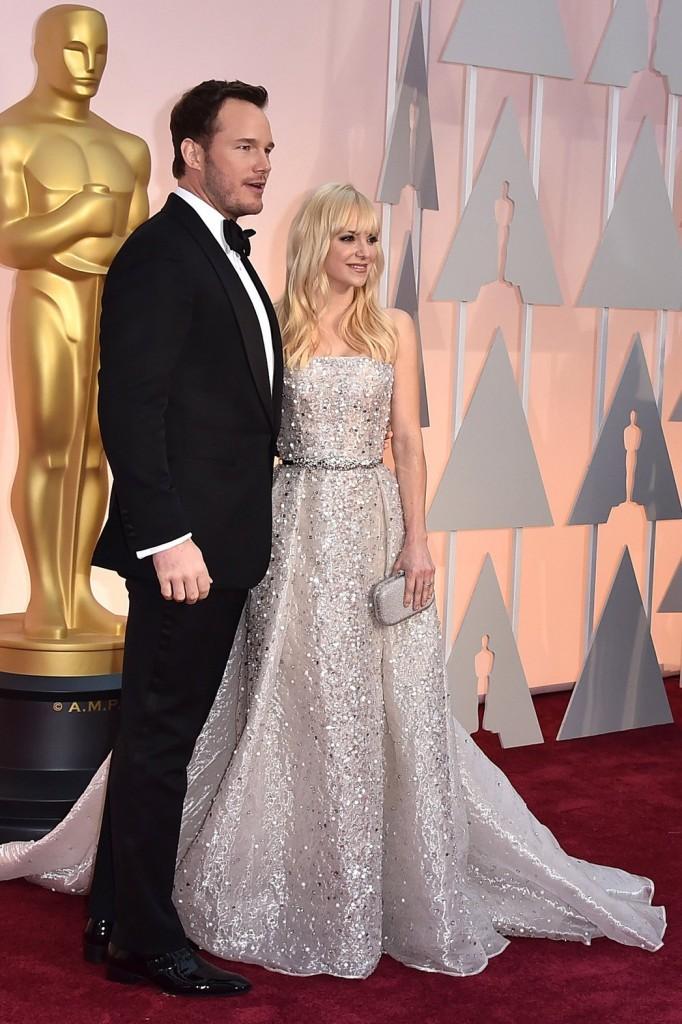Chris Pratt Oscars 2015 Hairstyles