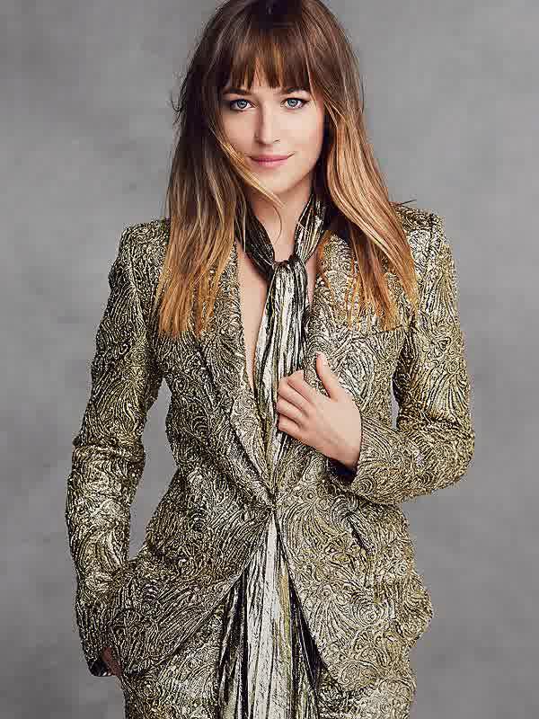 Fifty Shades Of Grey Dakota Johnson Hairstyles 2015
