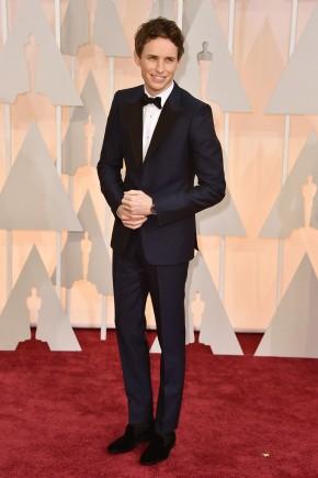 Eddie Redmayne Oscars 2015 Hairstyles