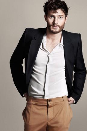 Jamie Dornan Messy Hairstyles For Men 2015