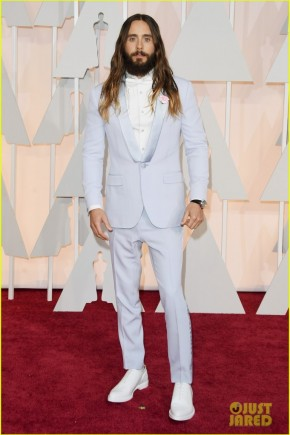 Jared Leto Oscars 2015 Hairstyles