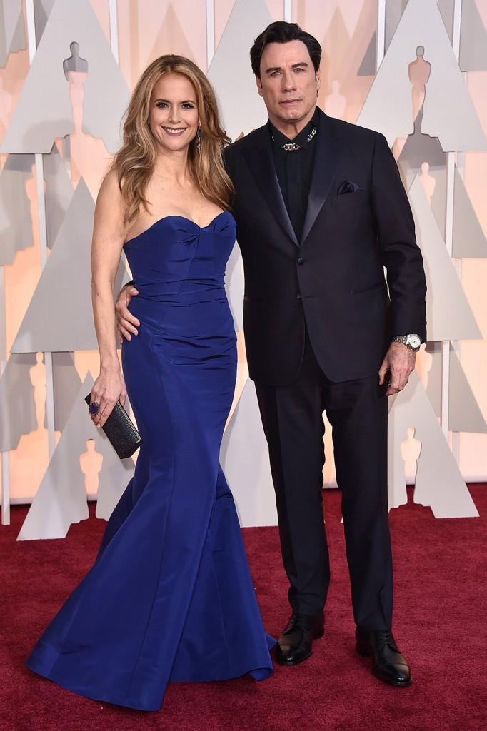 John Travolta Oscars 2015 Hairstyles