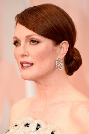 Julianne Moore Oscar 2015 Hairstyles