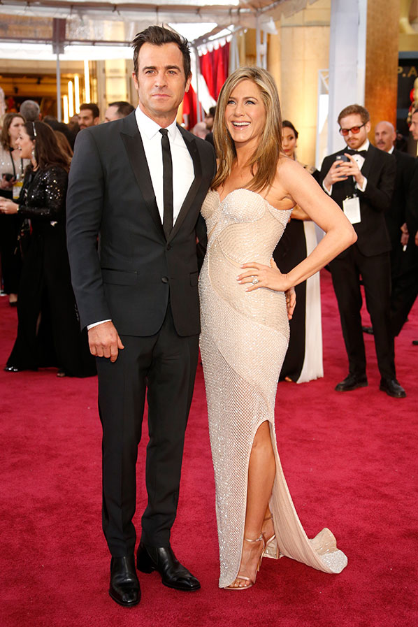 Justin Theroux Oscars 2015 Hairstyles