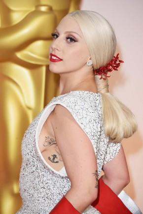 Lady Gaga Oscar 2015 Hairstyles