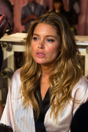 Doutzen Kroes Long Hairstyles 2015