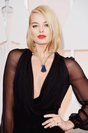 Margot Robbie Oscar 2015 Hairstyles