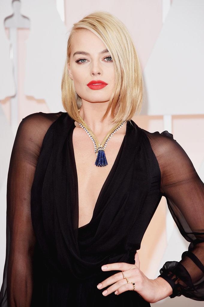 Classy bob hairstyles from Oscar 2015