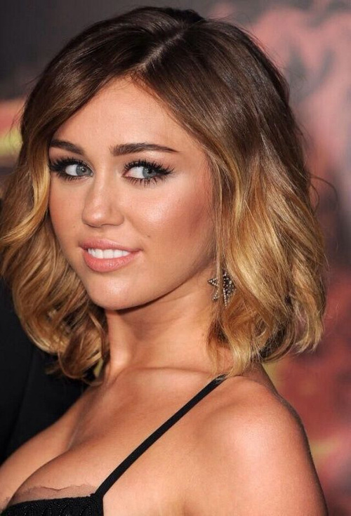 Admirable Miley Cyrus Diverse Short Hairstyles For Spring 2015 Hairstyles Hairstyles For Women Draintrainus