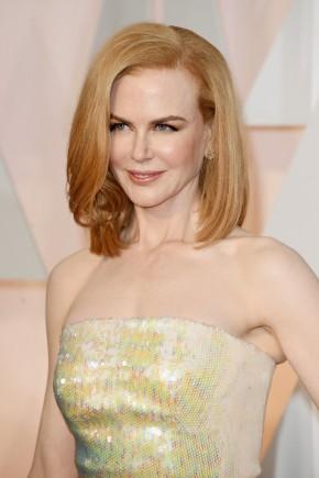 Nicole Kidman Oscar 2015 Hairstyles