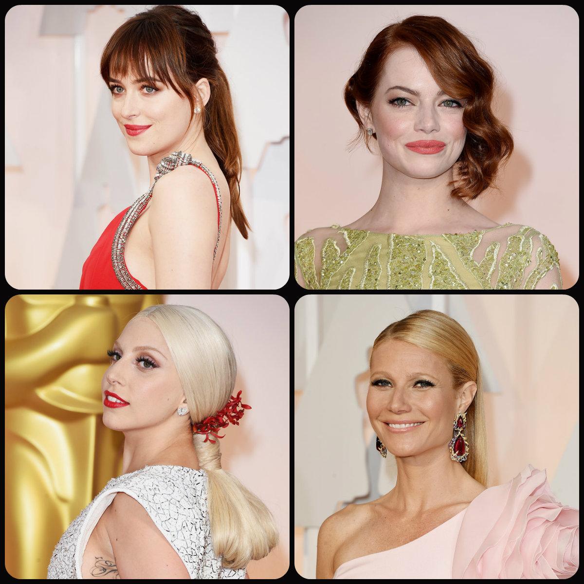 Oscar 2015 hairstyles