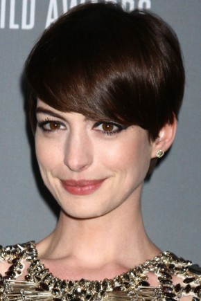Anne Hathaway Pixie Haircuts 2015