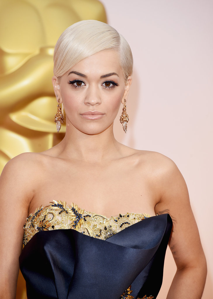 Short elegant hairstyles form Oscar 2015