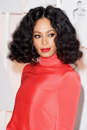 Solange Knowles Oscar 2015 Hairstyles