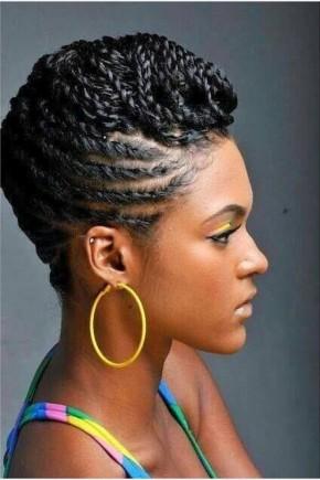 Mohawk Twist Hairstyles 2015
