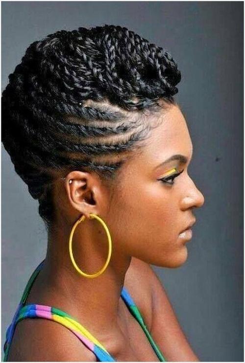 Awe Inspiring Natural Twists Hairstyles 2015 Spring Hairstyles 2016 Hair Short Hairstyles For Black Women Fulllsitofus