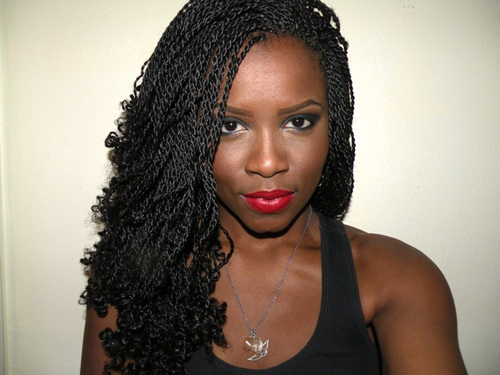 Natural Twists Hairstyles 2015 Spring