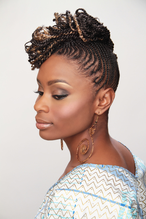 Natural Twists Hairstyles 2015 Spring | Hairstyles 2017