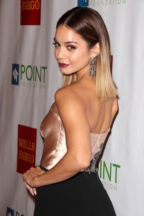 Vanessa Hudgens medium straight hairstyles 2015