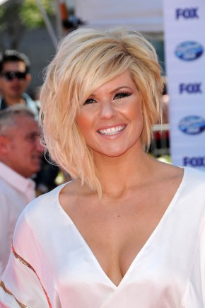 Kimberly Caldwell medium hairstyles 2015