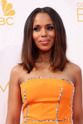 Kerry Washington medium hairstyles 2015