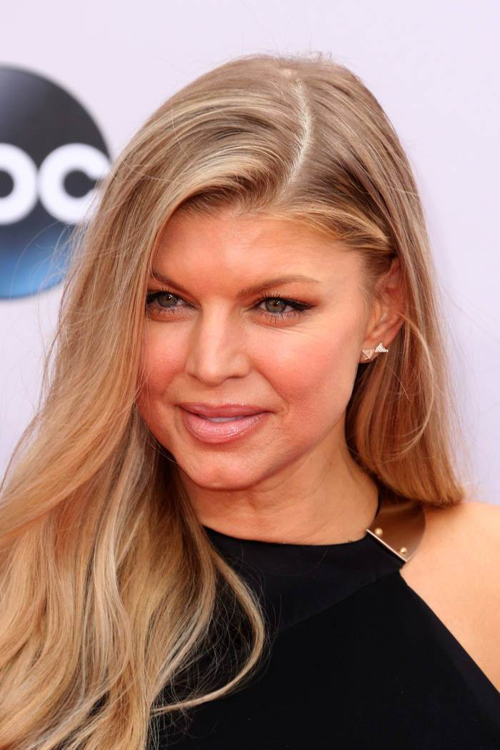 Fergie Blonde Hairstyles 2015