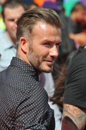 David Beckham Short Sides Hairstyles 2015