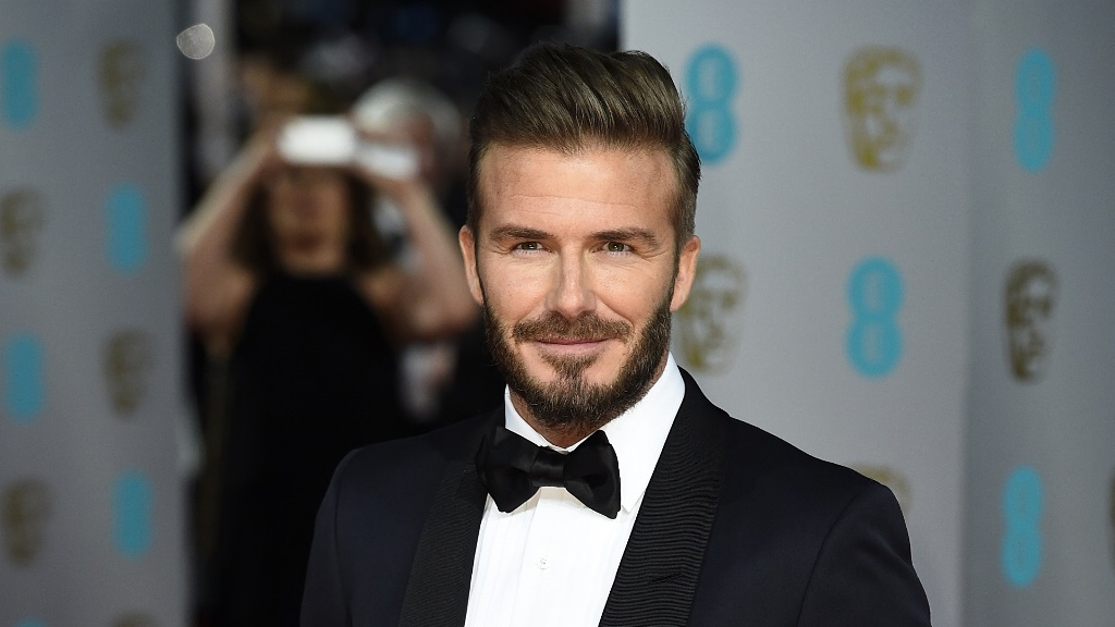 David Beckham Official Hairstyles 2015