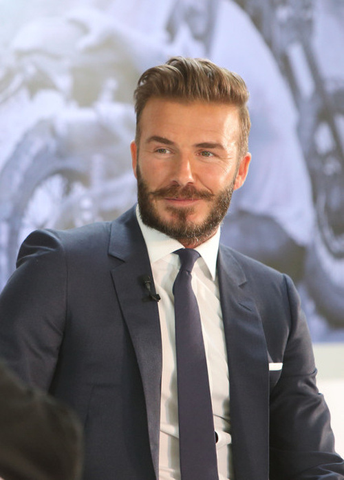 David Beckham Celebrity Hairstyles for Spring 2015 ... David Beckham